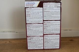 Taranis Cake ingredients